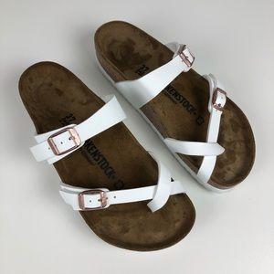 Birkenstock Mayari thong sandal shoe 37/L6M4 white